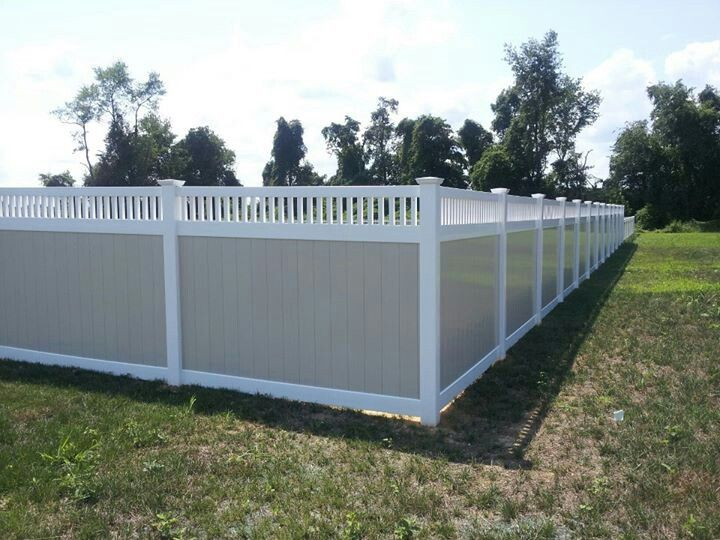 Pvc Vinyl Fence Goes Beyond White See Shoreline S Two