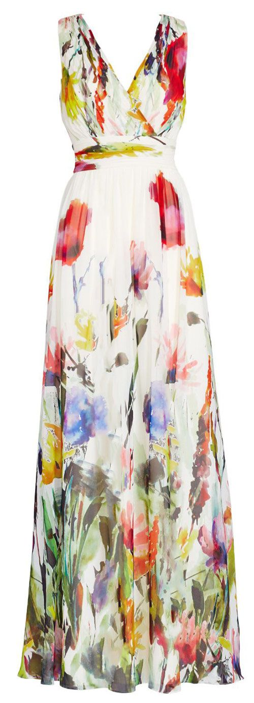 Abstract printing dress In! Free shipping&easy return! This cross V-neck maxi dress gonna offer you this romantic feeling! Find it at Cupshe.com