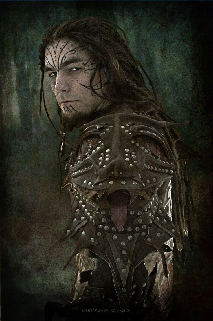 Forest Warrior by war paint