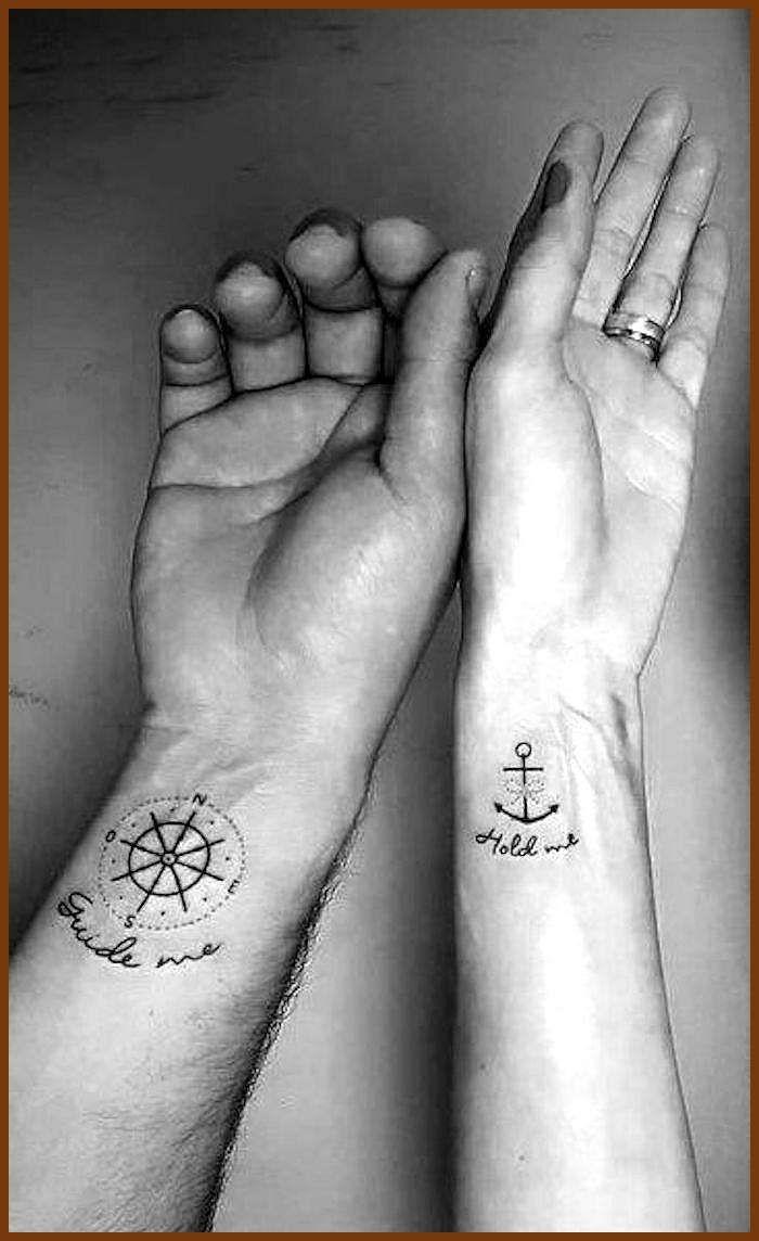 Tattoo ideen partner 250 Matching