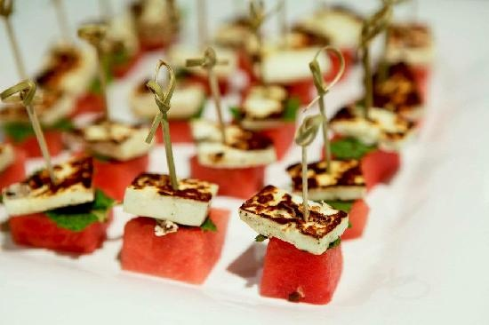Canape watermelon fun food ideas pinterest for Canape ideas jamie oliver