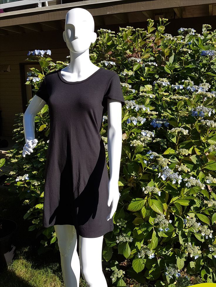 Miss BEE T shirt dress now in Black