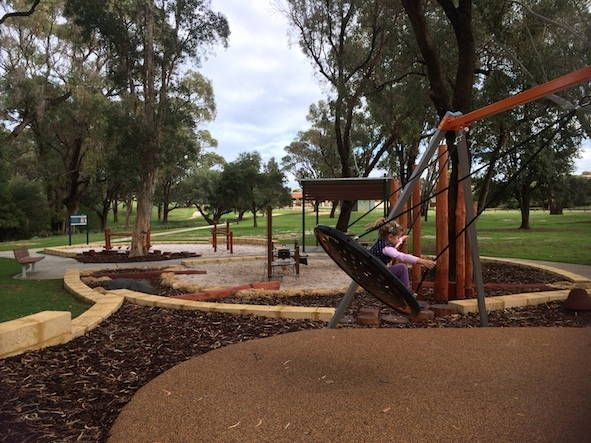 New Nature Play Space at Mawson Park in Hillarys