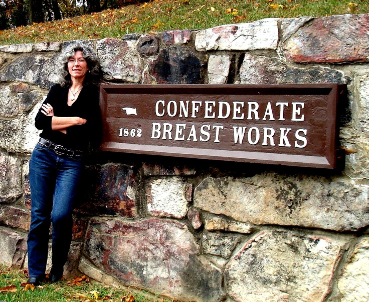 """Yes, it says """"Confederate Breastworks"""": Confederate Breastwork, Confed Breastwork, Conf Breastwork"""