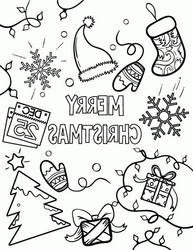 Christmas Coloring Pages Pdf Coloring Page Coloring Pages
