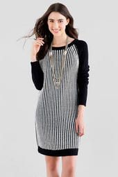Quinn Raglan Sweater Dress: