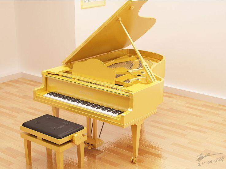 Golden Piano
