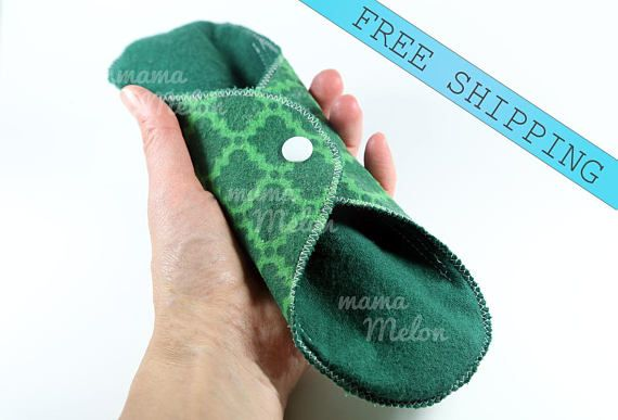 2 11 Absorbent Cloth Pads light/ regular or heavy
