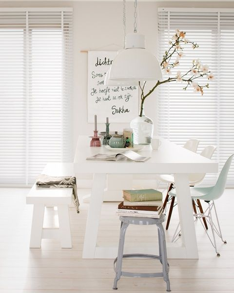 white and soft pastel tones <3