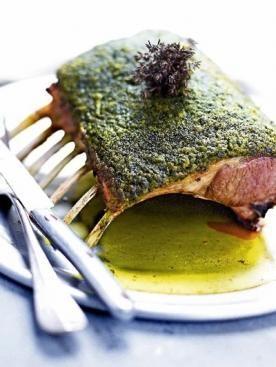 #Recept: Lamsrack met een kruidenkorstje  http://ift.tt/2fj0xKh #Vlees-en-Gevogelte