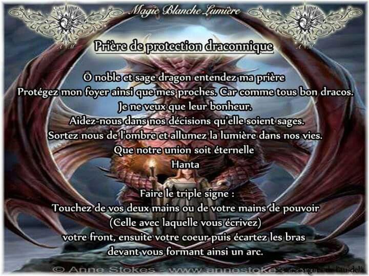 Prière de Protection de à conique Page Facebook : Spiritualité, Magie Blanche Lumière