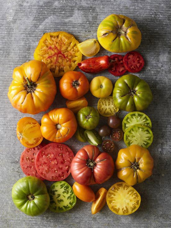Try some of our favorite heirloom #tomatoes this year. See more here: www.bhg.com/gardening/vegetable/vegetables/top-heirloom-tomato-varieties/
