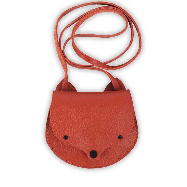 Donsje Δερμάτινη παιδική τσάντα Fox