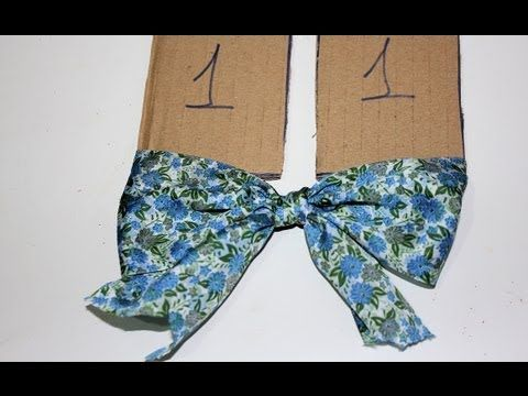 ▶ Tutorial: Lazos perfectos. Perfect Bows - YouTube