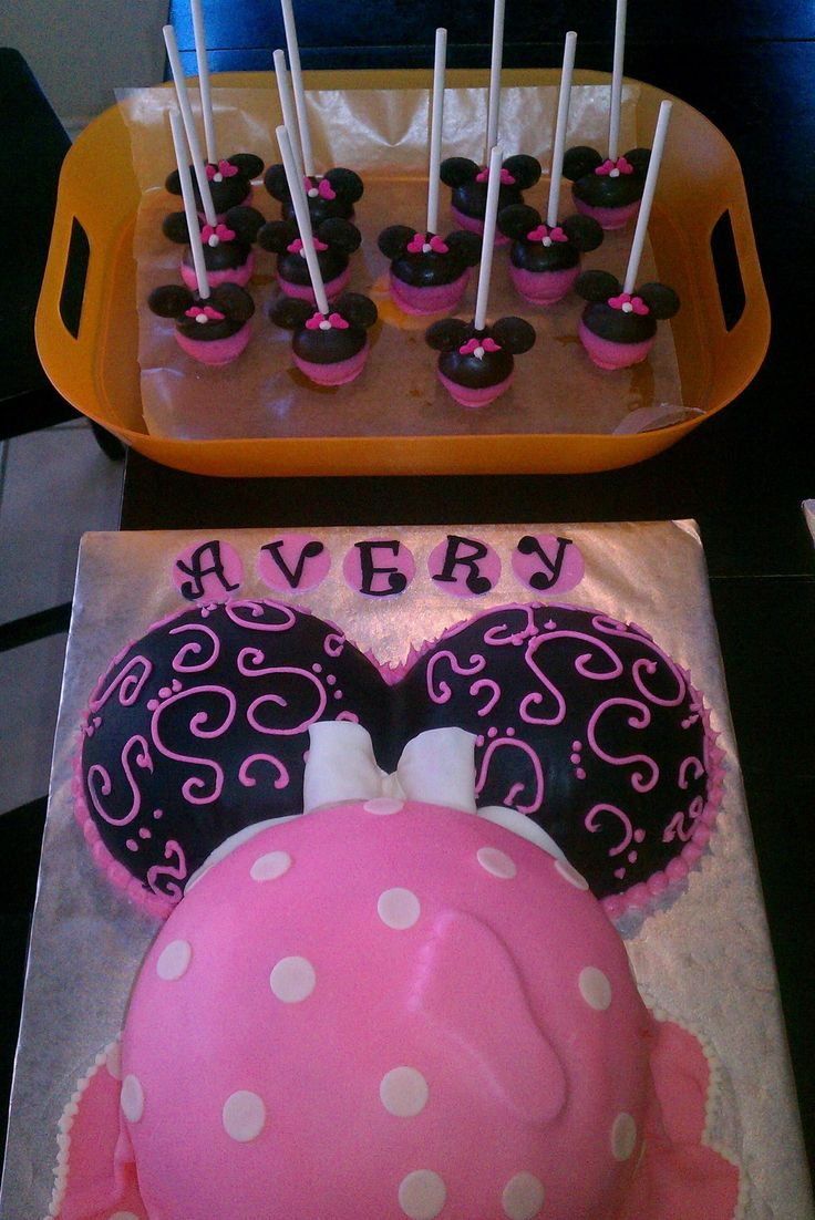 Baby Minnie Mouse Cake Ideas