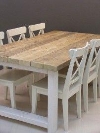 Tafels van steigerhout | JORG`S Houten Meubelen