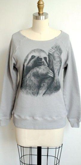 Sloth sweater!