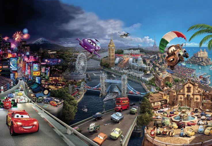 Fototapety ścienne dla dzieci - Samochody, Świat Disney'a - Sklep DecoArt24.pl