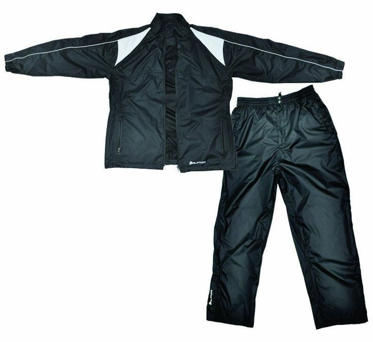Ideal for wet weather conditions this mens cyclone black golf rain suit by Orlimar is made from 100% waterproof materials!