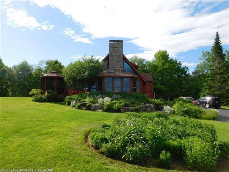 This picturesque, contemporary home sits on a one acre rural lot with stunning landscape. Incredible perennial beds abound this great find. Enjoy a large deck with screened in Gazebo! Great price and location don't miss out.