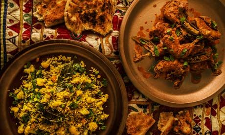 Butter chicken and winter vegetable pilau recipe | Vivek Singh | Life and style | The Observer