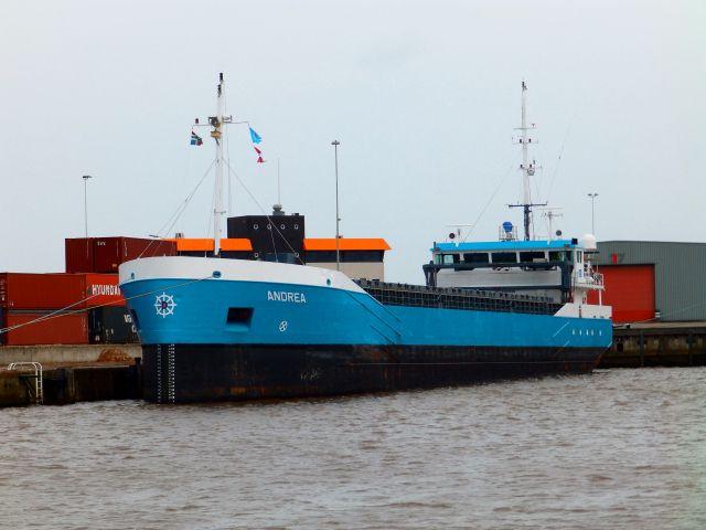 Delfzijl vandaag  2 februari 2016 arriveerde vanuit Stettin (Polen)  om af te meren aan de Wijnne Barends terminal  http://koopvaardij.blogspot.nl/2016/02/delfzijl-vandaag.html