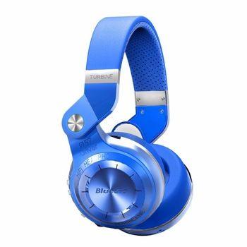 Bluedio T2S (Shooting Brake) fones de ouvido estéreo Bluetooth fones de ouvido sem fio Bluetooth 4.1 fone de ouvido sobre a Orelha fones de ouvido (Azul)