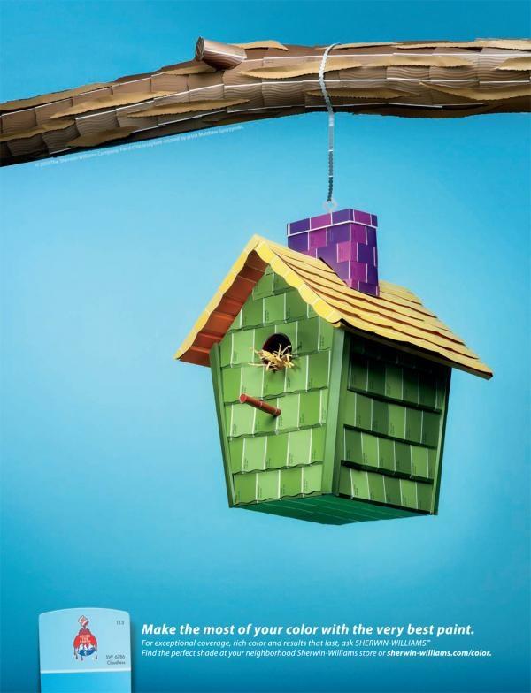 Renovated birdhouse
