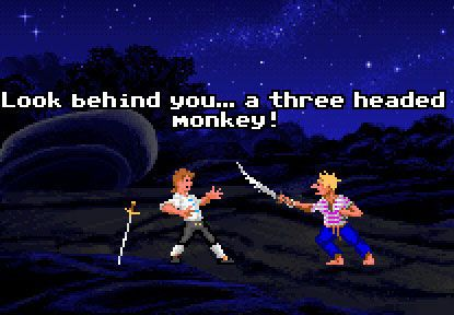 The Monkey Island Series - classic Lucas Arts adventures with its very own sense of humour...