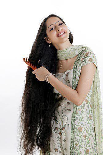 Indian long hair play-8491