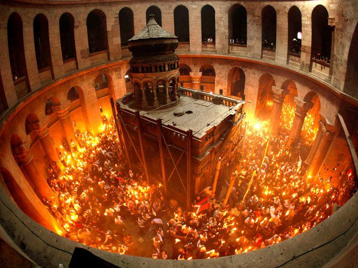 LUMINA SFANTA   Sfânta Lumină de la Ierusalim