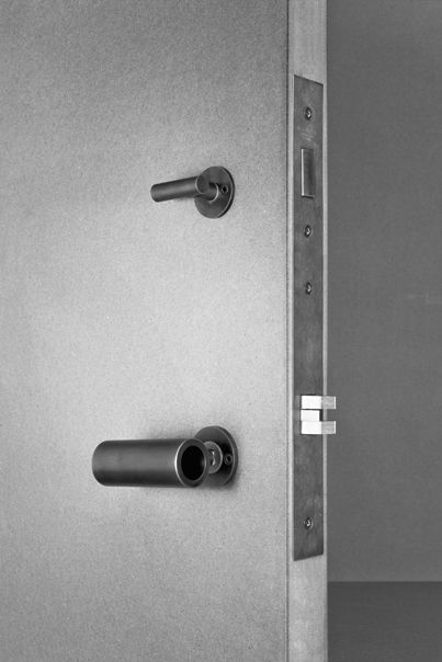 Latch Door Hardware; components start at $95 by architect Tom Kundig of Olson Kundig