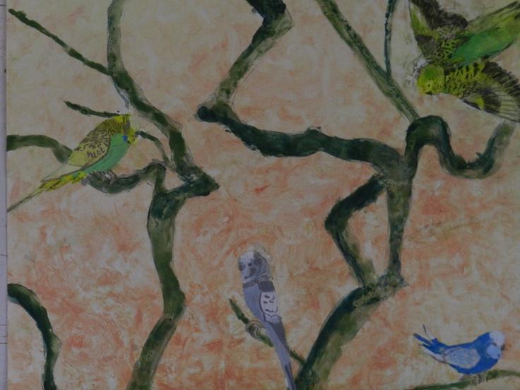 25 beste idee n over landelijke schilderijen op pinterest borden met country spreuken schuur - Kleur trap schilderij ...