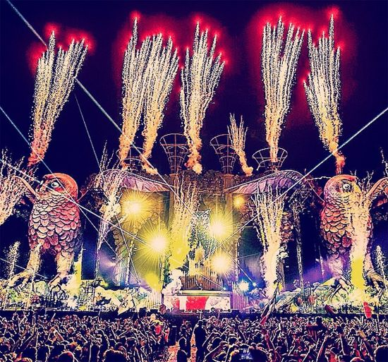 Amazing picture from EDC Mexico 2015!!