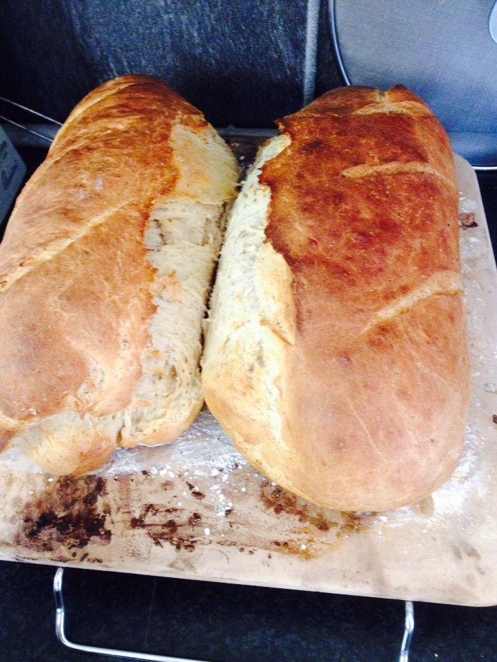 Stone baked bread