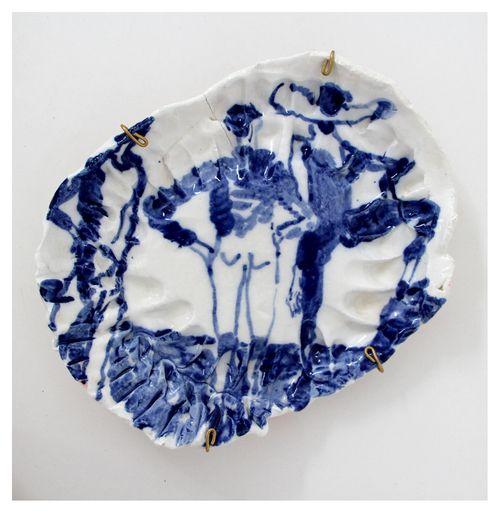 'While We Were Lost 2'   Glazed Ceramic   R 4 600