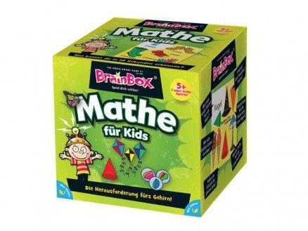 BrainBox - Mathe für Kids Entwickelt in Zusammenarbeit mit Grundschullehrern vermitteln die Karten Kindern ab 5 Jahren erste mathematische Begriffe zu verschiedenen Themen. Unter anderem lernen die Kinder die Zahlen von 1 - 20, geometrische Formen, Geld oder die Zeit kennen.