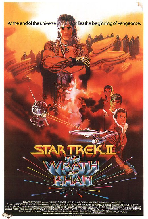 Star Trek II - The Wrath of Khan (Favorite Star Trek movie - original cast)