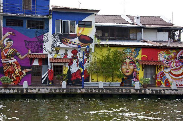 Street art - Malacca - (Malaysia) by AroundtheWorldwithKid, via Flickr