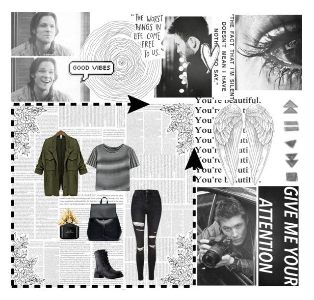 """""""Give Me Your Attention"""" by xo-nataliiee-xo on Polyvore featuring WithChic, Topshop, Sole Society and Marc Jacobs"""