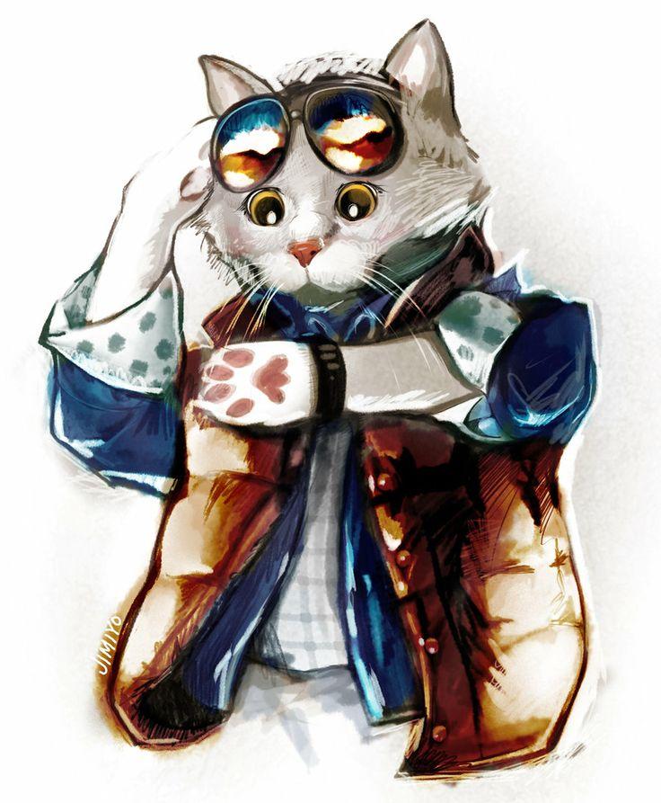Marty McCat by jimiyo.deviantart.com on @deviantART