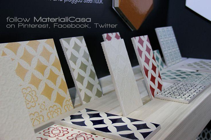 Decò D'Antan by Tagina. La tradizione e l'innovazione. #Cersaie2014 #CeramicTiles Company: Tagina Ceramiche D'Arte