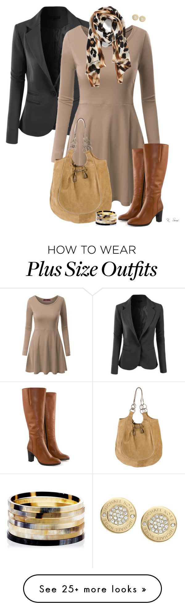 """""""More Boots!"""" by ksims-1 on Polyvore featuring mode, LE3NO, Doublju, Jilsen Quality Boots, Collection XIIX, Anya Hindmarch, Nest en Michael Kors"""