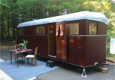 Flyte camp: restauratie oude campers