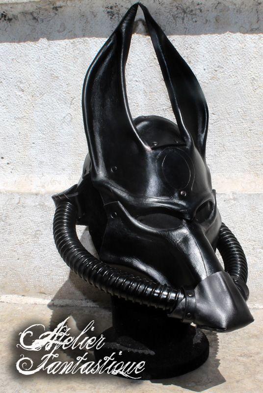 Post-Apo Anubis Leather mask