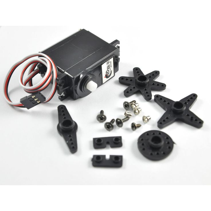 360 Degree Continuous Rotation RC Servo for Smart Car Robot Aerospace Model #RCmall