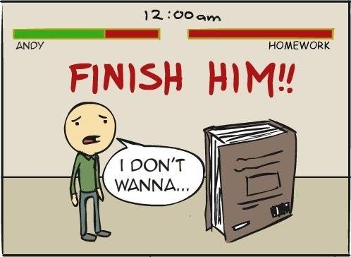 college homework jokes