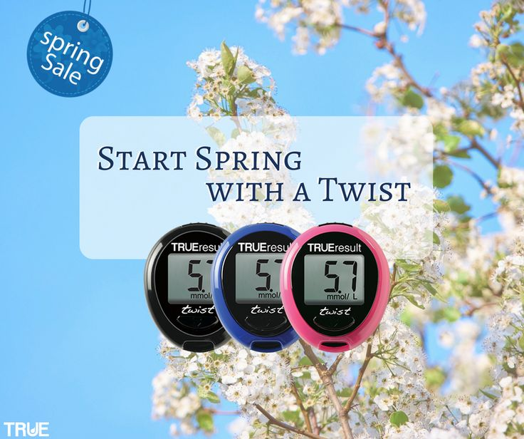 This Spring (2016) use our code TWSPR4 to receive our TRUEresult twist in pink, blue, or black for $4. Keep your Twist at home, in your workplace, or in your bag for those just in case moments … It's always good to have a spare meter #diabetes