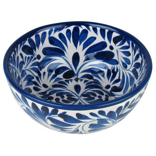 Mexican Blue & White Talavera Dinnerware | Indeed DecorIndeed Decor