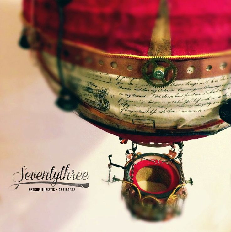 SteamBalloon Lamp / SteamPunk lamp by SeventythreeNYC on Etsy https://www.etsy.com/listing/170075351/steamballoon-lamp-steampunk-lamp